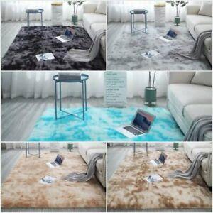Fluffy Rugs Anti-Slip Shaggy Rug Large Soft Carpet Mat Living Room Floor Decor