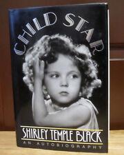"(SSG) Rare SHIRLEY TEMPLE Signed Book ""Child Star"" - JSA (James Spence) COA"