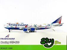 SKY500 Transaero Airlines Boeing 747-400 1:500 Flight of Hope Reg. EI-XLK (0779)