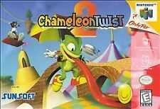 ***CHAMELEON TWIST 2 N64 NINTENDO 64 GAME COSMETIC WEAR~~~