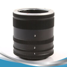 Macro Extension Tube Lens Adapte Ring For Sony E Mount NEX Camera Lens A7 A7R S