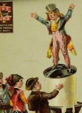 1870's-80's Lovely Uncle Sam King's Quick Rising Buck Wheat Graham Flour F95