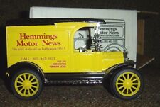 Hemmings Motor News Antique Auto Publications 1917 Model T Toy Truck Bank