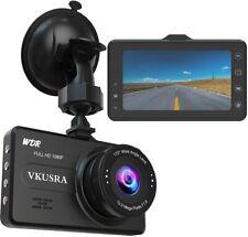 Dashcam Full HD 1080p 170 Grad Weitwinkelobjektiv 3 Zoll LCD-Bildschirm G-Sensor