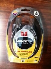 MONSTER CABLE 4FT Black Standard THX-Certified THX V100 HDMI Cable Male to Male
