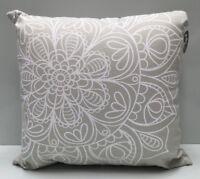 My Hub Homewares Grey Mandala Scatter Cushion . Bedroom / Lounge