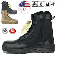 SWAT Mens Tactical Duty Boots Army Military Combat Army Work Boots Hiking Shoes