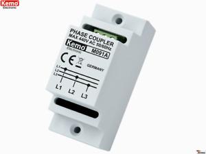 Phasenkoppler für Powerline Produkte M091A Kemo B-Ware / Alte Version