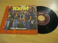 "7"" Single Karat Das Monster AMIGA DDR Vinyl 456234 Schallplatte"
