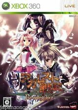Used Xbox 360 Agarest Senki MICROSOFT JAPAN JP JAPANESE JAPONAIS IMPORT