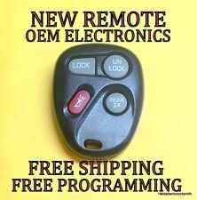 NEW 98-01 GM GMC CHEVY KEYLESS REMOTE FOB TRANSMITTER 15732805 KOBUT1BT