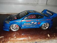 Honda Integra Type R (Mugen) in blue Scale 1:24 with lights