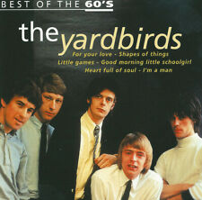 The Yardbirds ‎– Best Of The 60's ! CD Comil. ! Niederlande 2000 ! Picture Disc
