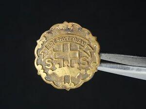 VINTAGE PRESBYTERIAN CHURCH SUNDAY SCHOOL LAPEL PIN  ~ 18 mm