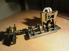 Live Steam customised MSS Twin Cylinder double acting Marine Model Steam Engine