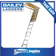Bailey Attic Ladder Aluminium Folding Ladder 170kg 2.44m-3.05m FS13560