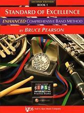 Kjos Standard Of Excellence Enhanced-Music Book 1/Online-Alto Saxophone New Sax