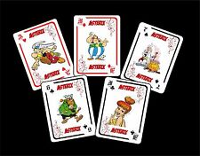 ASTERIX 1 BOX WITH 54 POKER PLAYING CARDS - ARGENTINA! - NIB