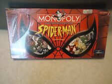 Marvel Spider-man Monopoly Board Game NEW