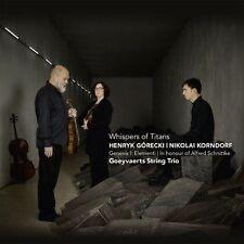 WHISPERS OF TITANS: HENRYK G¢RECKI, NIKOLAI KORNDORF NEW CD