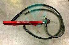 K Swap Center Feed 6AN Fuel System EG EK DC2 K Tuned RED Fuel Rail & FILTER