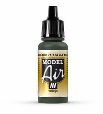 Vallejo 17ml Model Air - IJA Midouri Vert VAL134 AÉROGRAPHE PEINTURE