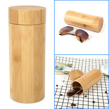 New Sunglass Glasses Case Bamboo Shell Hard Case Box Pouch Bag Eyeglass Storage