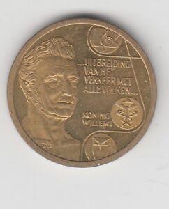 Pays-Bas 5 ECU Roi Wilhelm I 1992