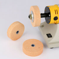 "3"" Ceramic Grinding Wheel Abrasive Disc Bench Grinder For Stone Metal 75*20*10mm"