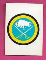 1977-78 OPC # 324 BUFFALO SABRES  TEAM LOGO EX-MT CARD (INV# A9906)