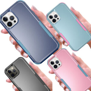 Heavy Duty Armor Protection PC+TPU Case Cover for iPhone 12 Mini 11 Pro Max XR