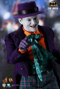 "Hot Toys THE JOKER 1989 Batman DX08 1/6 12"" Jack Nicholson MIB USA"