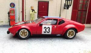 1/32 RESIN BODIED DE TOMASO PANTERA SLOT CAR  *UNIQUE* Mulsanne Models.