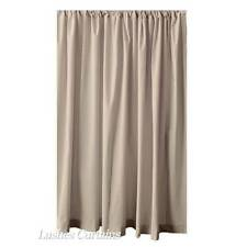 13ft H Beige Velvet Curtain Long Panel Tall Wall Room Partition/Divider Drapery