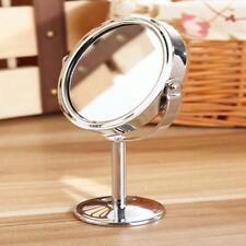Femmes Make Up Miroir cosmétique Double Face normal Miroir grossissant cadeau EH