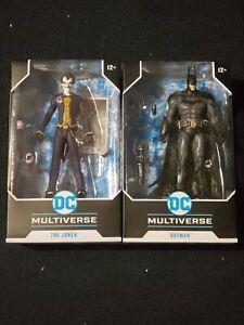 DC MULTIVERSE THE JOKER & BATMAN ARKHAM ASYLUM MCFARLANE TOYS NEW