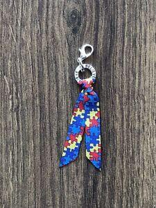 🧩Autism awareness charm/ autism awareness zip pull 💫