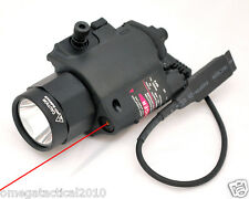 Premium Tactical Light & Red Laser Sight Combo Fits Glock 17 20 21 41 34 37 31