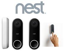 NEST NC5100US 2 PACK HELLO HARDWIRED DOORBELL