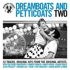 Dreamboats and Petticoats Two (Vol. 2) New 2 Disc CD