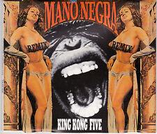 MAXI CD MANU NEGRA (MANU CHAO) 4 TITRES KING KONG FIVE DE 1989 RARE !!!