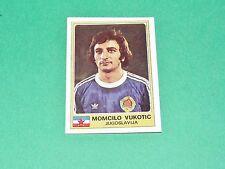 N°163 VUKOTIC PARTIZAN BELGRADE JUGOSLAVIJA PANINI EURO FOOTBALL 1976-1977