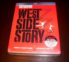 WEST SIDE STORY 50th Anniversary Edition Blu-Ray 4 Disc Set DVD CD SEALED NEW