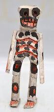 Bulk order of 5    6in HAND CRAFTED SKELETON=DAY OF DEAD  HALLOWEEN  FOLK ART -