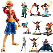Anime One Piece PVC Figuren Luffy Nami Zoro Sanji Actionfigur Spielzeug Sammeln