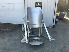 Custom Stainless steel barrel dumper
