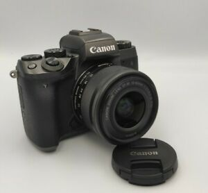 Canon EOS M5 with EF-M 15-45mm Kit