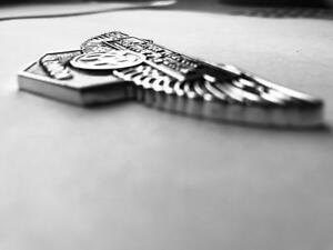 Aston Martin grill badge Db1 Db2 DB4 DB5 DB6 DBS DBS DB7 - Fits all Aston Martin