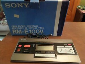 Sony video editing controller w/org box- RM-E100V