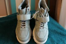 ladies catwalk platfrom boots mint green size 40